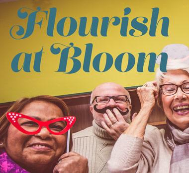 Flourish at Bloom Graphic